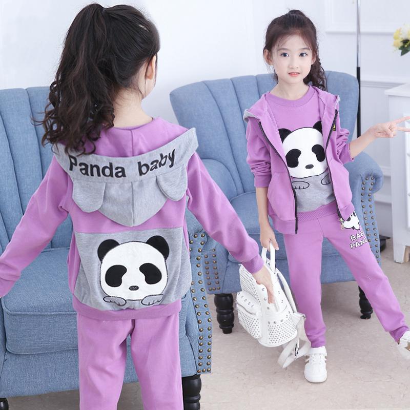 女童秋装套装2020年新款儿童装3运动4春秋5女孩衣服6洋气7时髦8岁