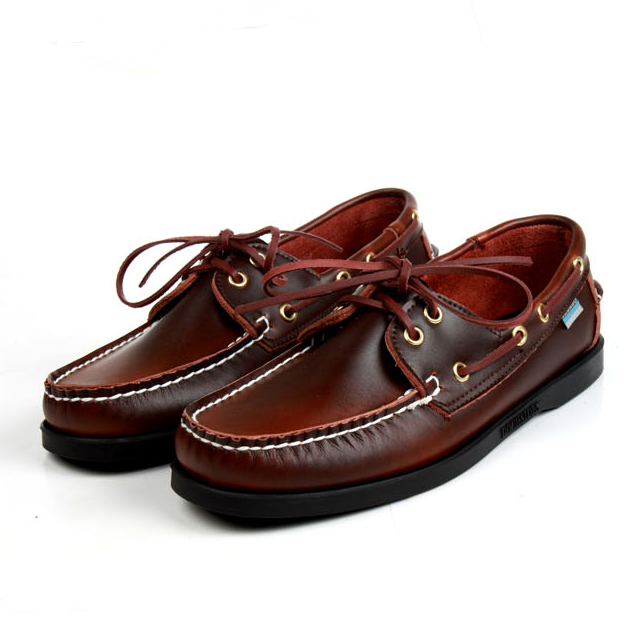 Sebago lazy low top sailing shoes mens Handmade British foreign trade shoes cowhide leisure trend drivers shoes men