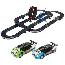 AGM Sonic Storm Childrens puzzle toy track racing Boy electric remote control rail car set TR08