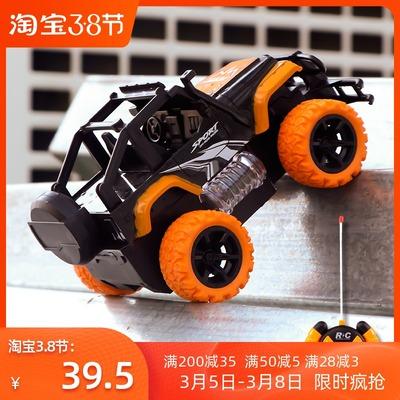儿童玩具车充电无线攀爬车合金四驱越野车赛车遥控小汽车男孩电动