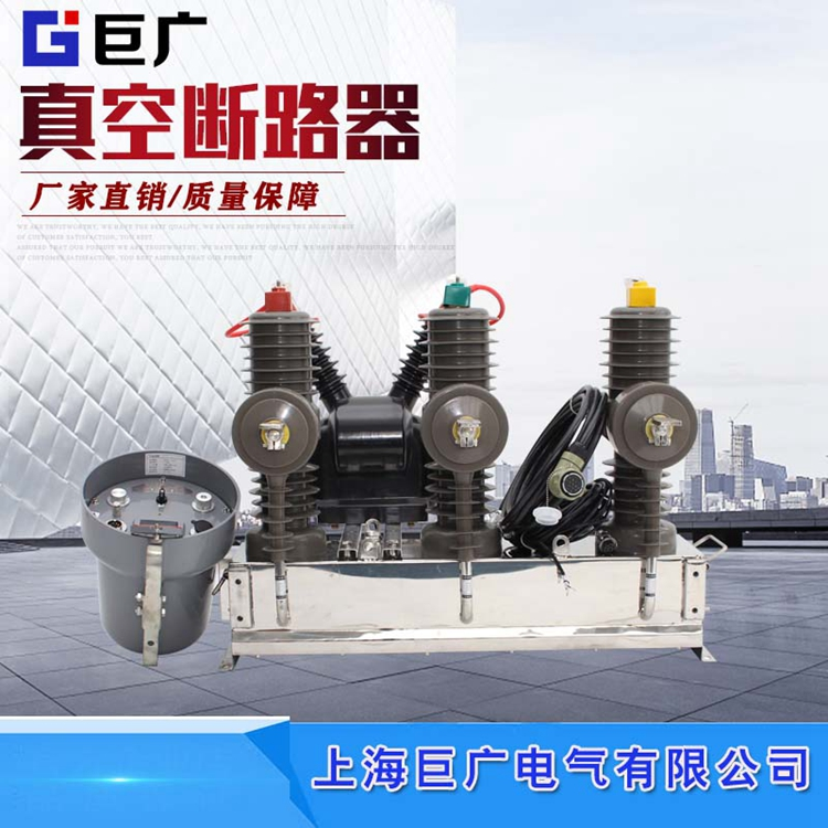 ZW32-12 / 630 high voltage vacuum circuit breaker 10kV outdoor manual Pt watchdog isolation pole switch
