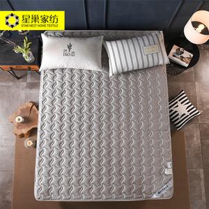全棉床垫软垫家用加厚双人褥子学生宿舍床褥保护垫海绵床垫垫被