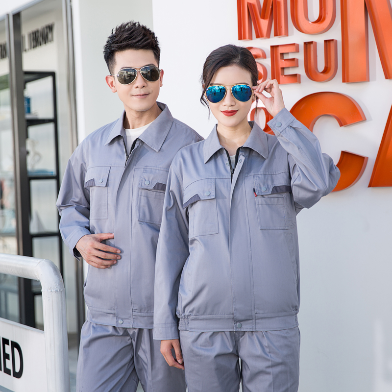 Anti static clothing long sleeve autumn and winter clothing gas station uniform gas station overalls gas station overalls railway supervision electrician