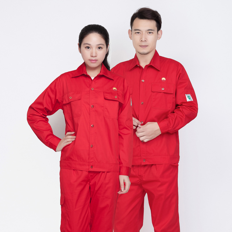Long sleeve thin anti static uniform in summer