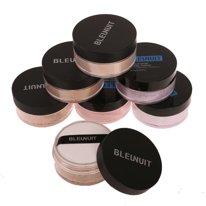 深蓝彩妆黑魅盈采蜜粉散粉持久定妆控油细腻保湿提亮修容专业正品