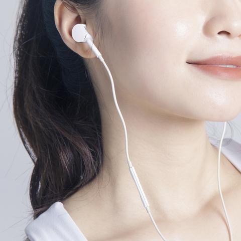 原装正品适用于小米11耳机有线type-c版接口10 8se 6x九红米k30 note7/pro入耳式cc9e八青春mix2s 3通用手机
