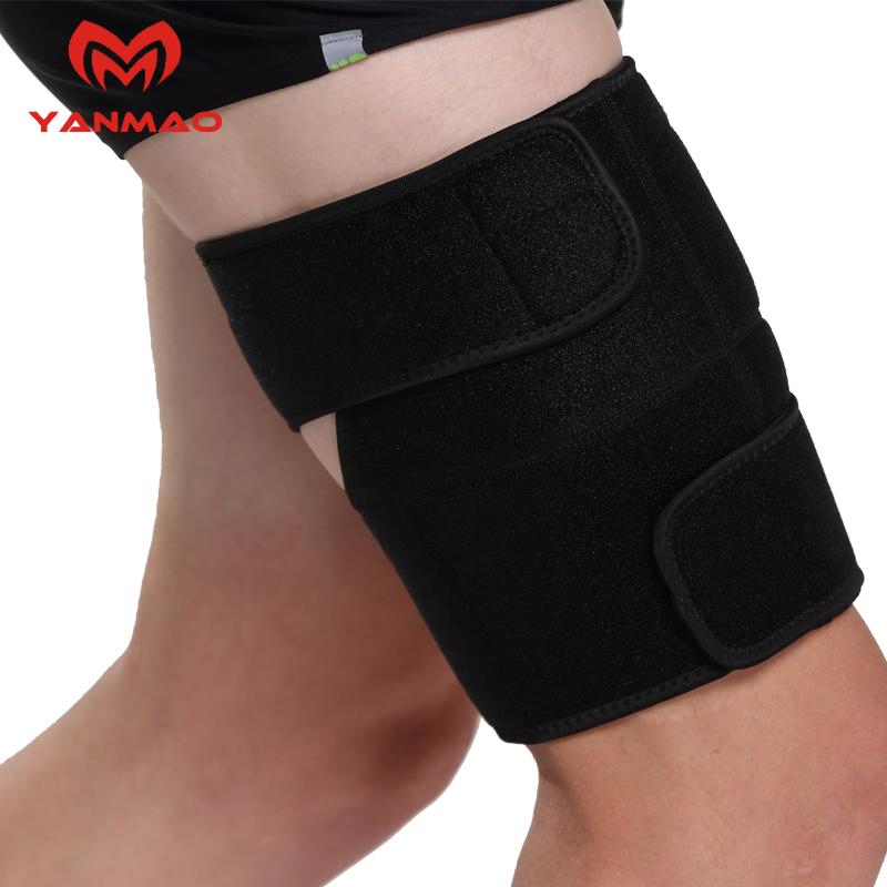 护大腿护具护腿护套护腿套大腿绑带束腿瘦腿保护套足球绷带套腿