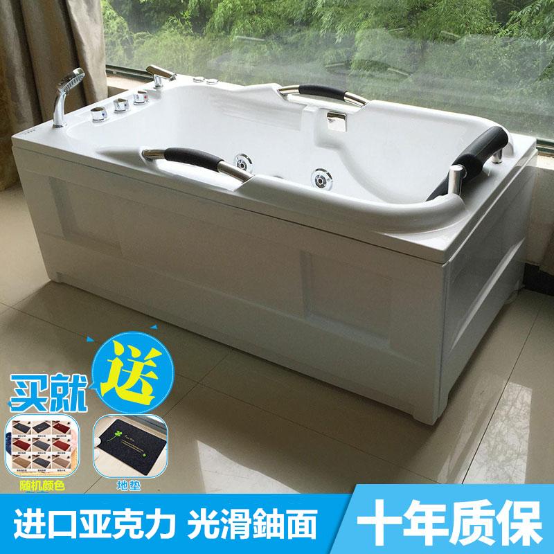 Настроить интерьер Акриловый массаж фристайла с серфингом маленькая ванна 1.2-1.7 термальная ванна Цзянсу, Чжэцзян и Шанхай бесплатная доставка по китаю