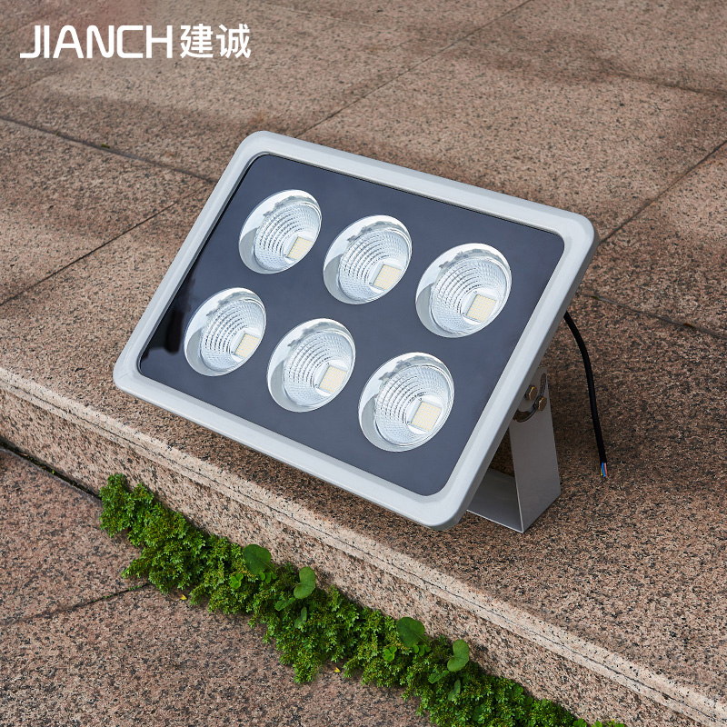 LED projection lamp outdoor courtyard lamp waterproof high power advertising site courtyard lighting searchlight outdoor lamp