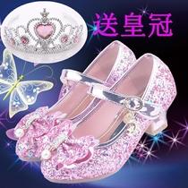 。2到12岁11儿童十软底公主穿的8女童鞋7高跟女孩5小孩单鞋4水晶3