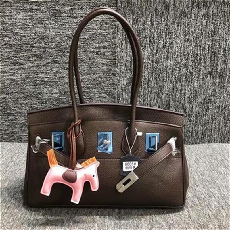Shopping bag with goods g Korean womens bag remove Shangbai cabinet classic I female J lock female armpit Kelly bag when carrying