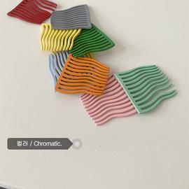 彩色的小发梳防滑刘海插梳小号梳子发卡发夹头饰发饰韩国卡子夹子