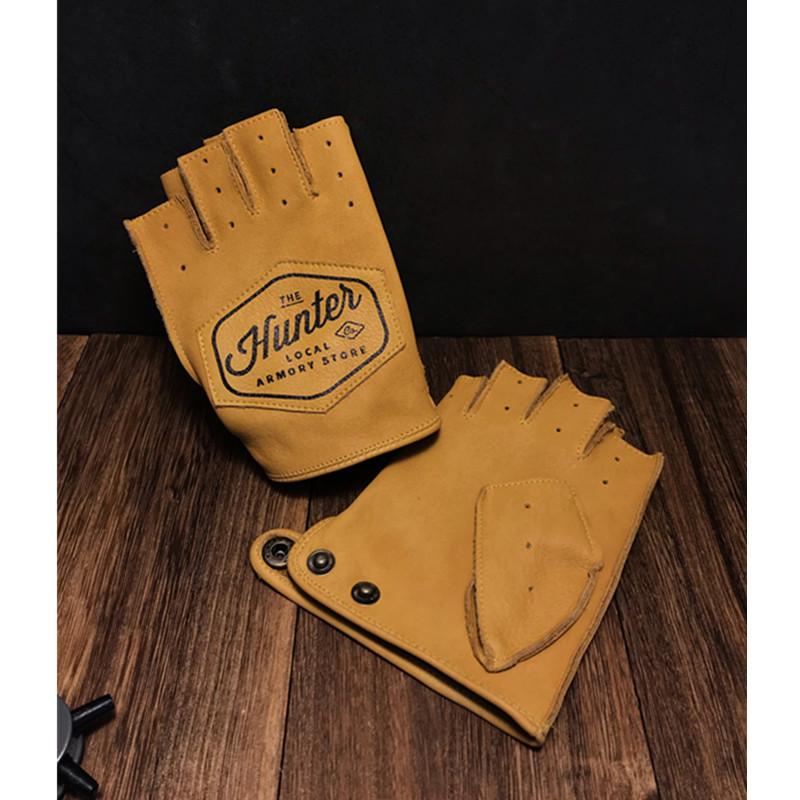 Мужские перчатки без пальцев Артикул 616661776081