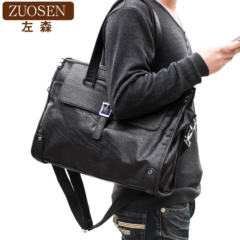 Zuosen mens bag Single Shoulder Bag Messenger Bag Handbag retro Bag Backpack leisure mens Travel Bag NEW