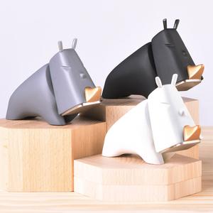 台灣iThinking犀牛錘,桌面擺件禮物 居家實用小鎚 超萌手工具