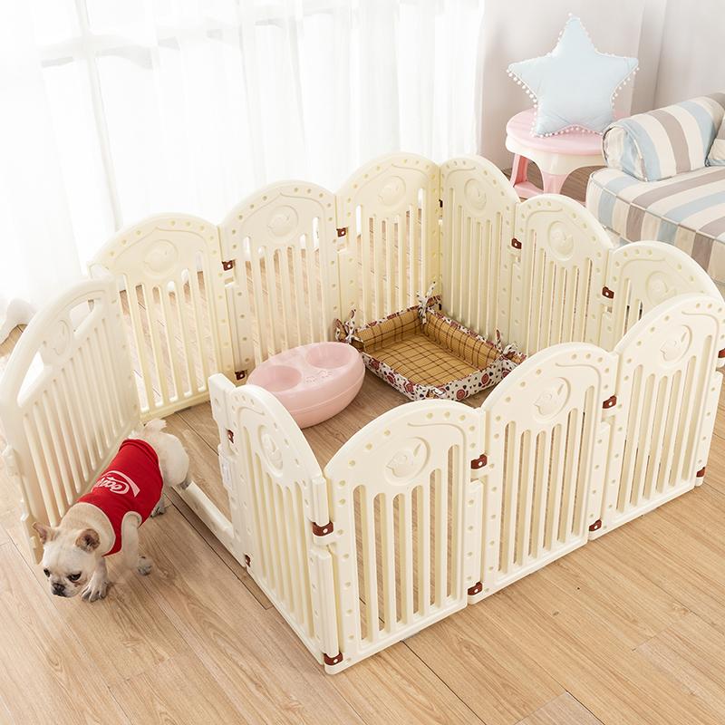 热销84件有赠品泰迪狗中小型犬宠物用品栅栏狗笼子