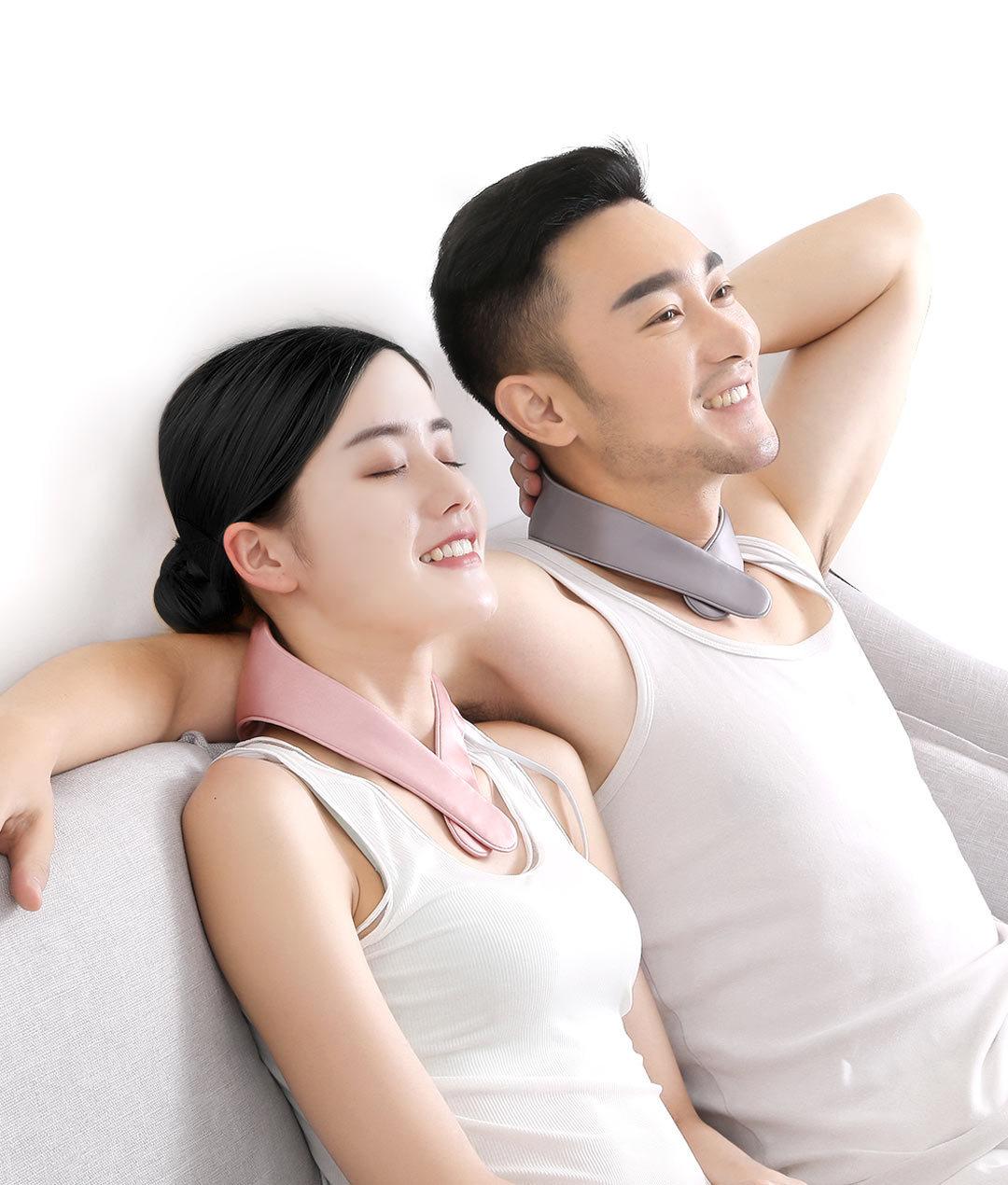 PMAグラファイト発熱真糸保護ネックバンドは頚椎を保護します。