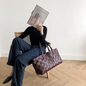 榴莲的爸爸 没有1米七不要买的托特包 超大容量2019新款欧美大包