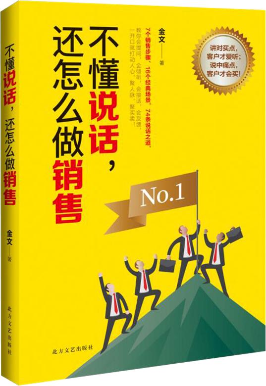 正版 现货 不懂说话 还怎么做销售 金文著 说中痛点 客户才会买 销售书籍