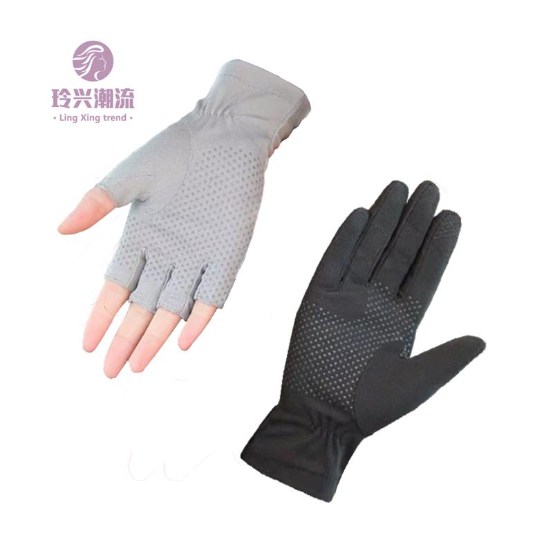Мужские перчатки без пальцев Артикул 590783482045