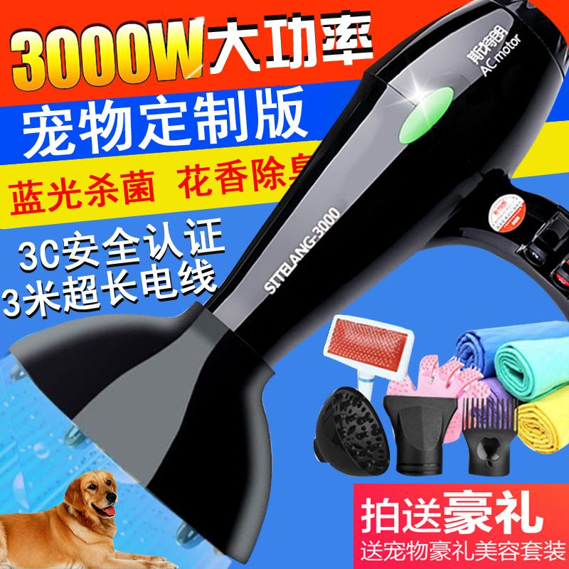 Домашнее животное фен большой мощности супер - молчание собака электричество стол золото волосы тедди китти крупных собак специальный дуть вода