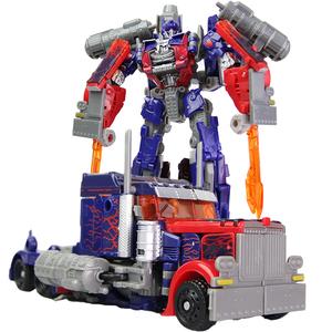 变形玩具金刚擎天大黄蜂男孩儿童手动拼装益智汽车机器人模型