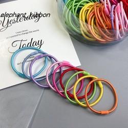 韩国进口扎头皮筋发圈diy材料手工制作发绳头绳自制发饰儿童配件