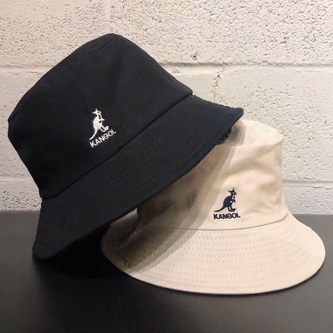 goods in stock! Kangol kangaroo fishermans Hat Womens fashion show face
