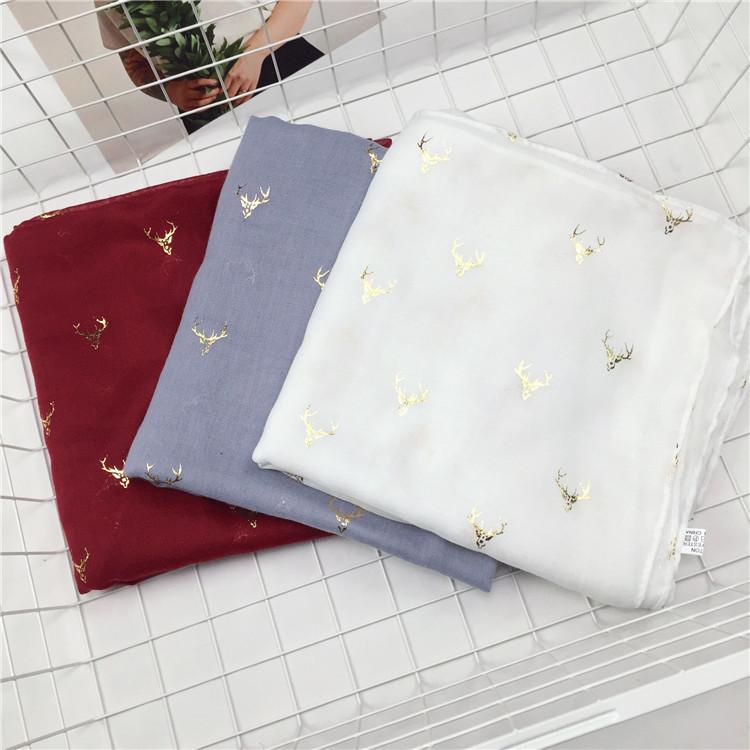 Женские шарфы из хлопка Артикул 587957444390