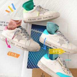 真皮小白鞋2020春季新款软底牛皮运动休闲鞋男童鞋子儿童女童单鞋图片