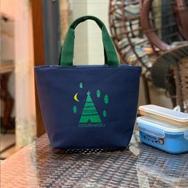 上班族帆布拎包手提袋小号外出手提包女妈妈小布包杂物买菜手拎袋