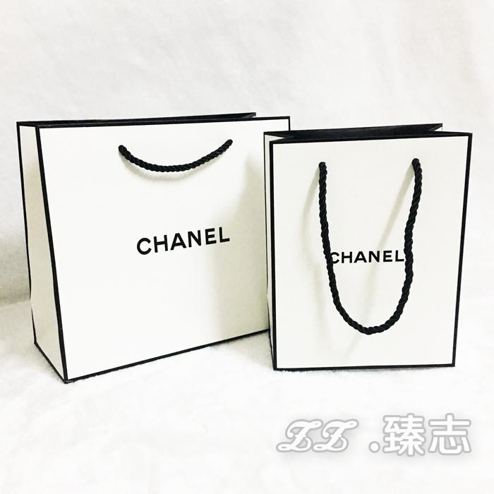 现货高档专柜化妆品手提袋子包装礼品购物袋 可定做印刷品牌纸袋