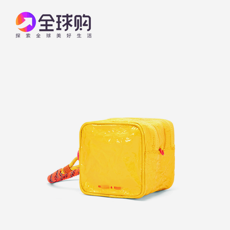 Singapore spring 2020 new small CK new fashion versatile sports rope bright face portable fold zero wallet
