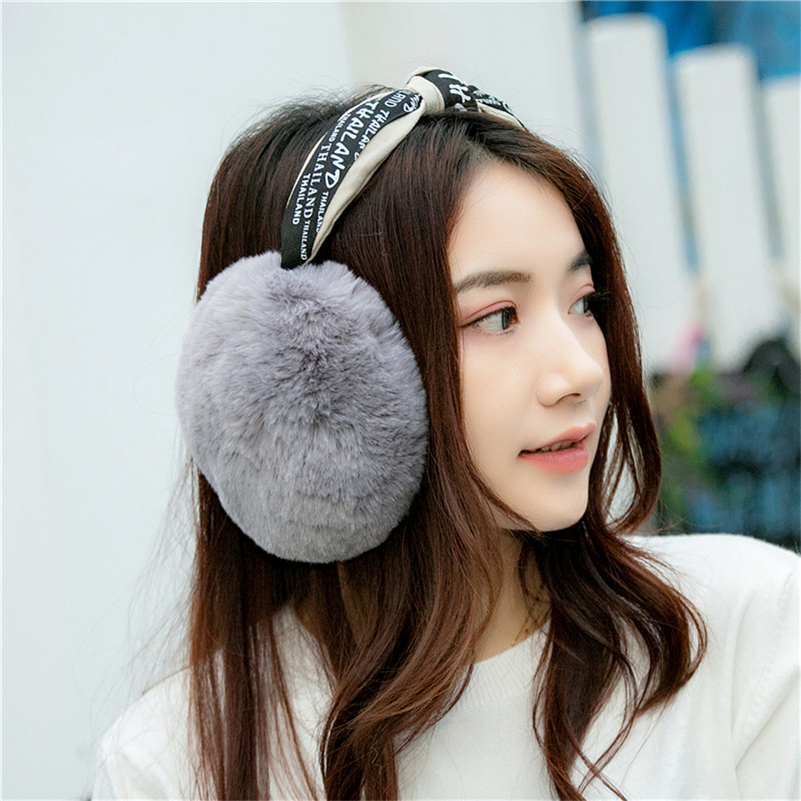 Earmuffs for female students in winter