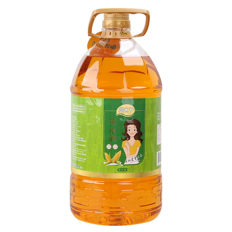 Mrs. Xian physically pressed Luzhou flavor edible oil grade I corn oil 5L barrel for household use