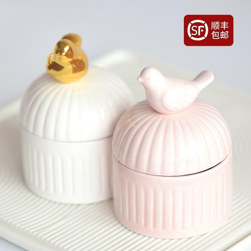 2019款爱情城堡动物陶瓷喜糖盒子12月03日最新优惠