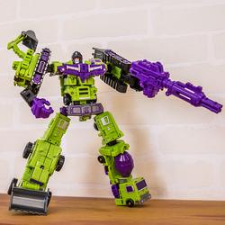 变形玩具金刚 组合小力神GT大力神迷你合体工程车汽车机器人模型