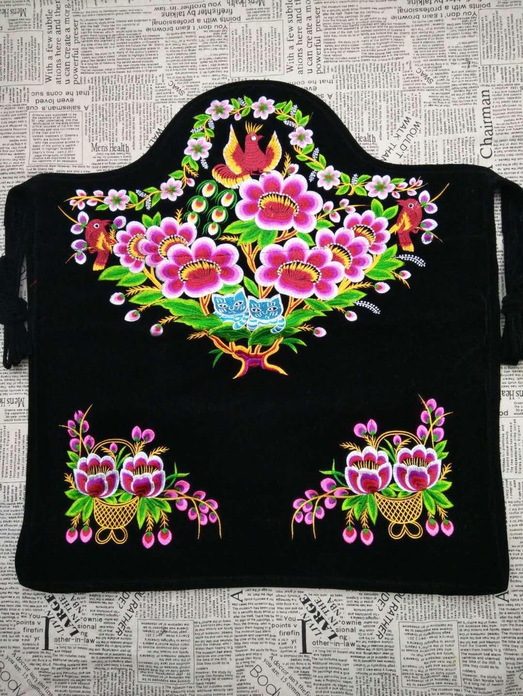 包邮宝宝婴儿背带 抱袋背巾背架 云南特色刺绣传统背被 背带背扇