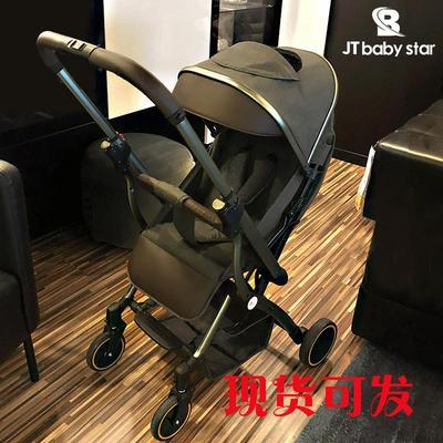 双向轻便婴儿小推车高景观可坐躺新生儿折叠宝宝简易避震儿童伞车