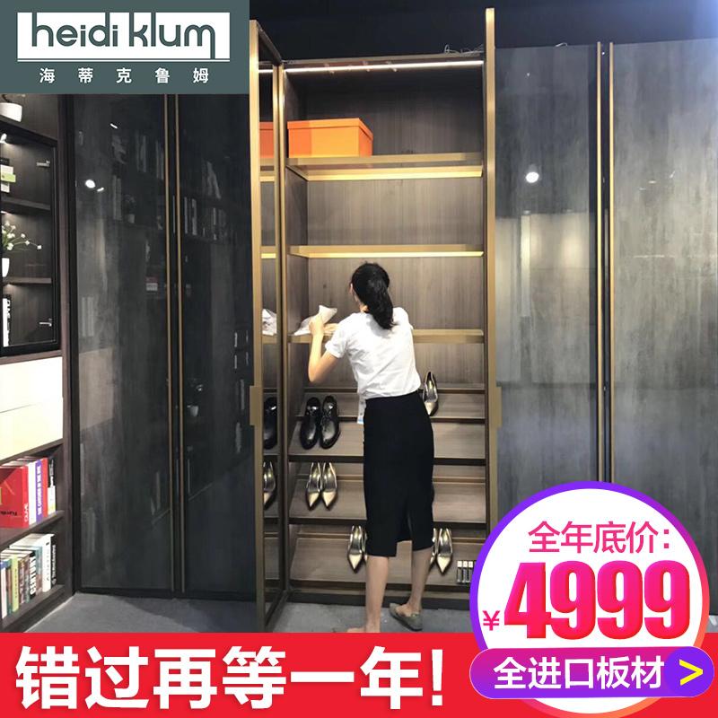 广州全屋定制衣柜威法意式轻奢家具定做整体衣帽间现代简约衣柜