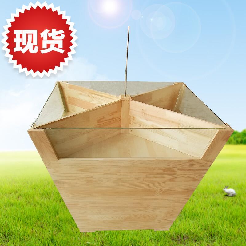 超市木质米柜五5谷杂粮柜散米面货柜实木便利店0米粮桶粮油店米斗