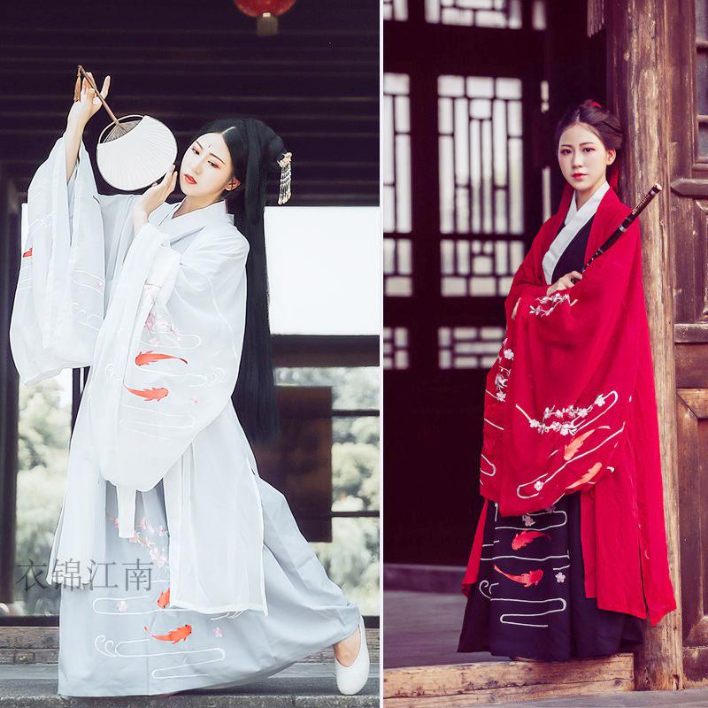【Южные одежды Jinjiang】~ Minnow на предпродаже вышивка цветения персика ~ вышивает китайцу для того чтобы принять большой втулке беспрокладочное верхнее соединение ветра Wei Jin одежды для того чтобы получить короткую куртку Китайск-типа