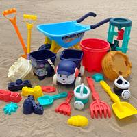 查看沙滩玩具套装车儿童挖沙工具宝宝决明子男女孩沙漏铲子桶玩沙子价格