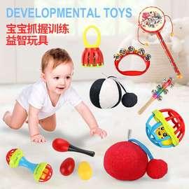 0到3个月婴儿4视力训练红球宝宝5手抓红色抓握训练玩具6益智2早教