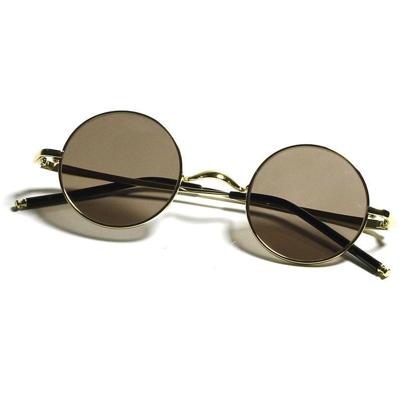 Stone glasses natural crystal glasses authentic mens and womens Retro round sunglasses sunglasses crown prince glasses anti fatigue L2
