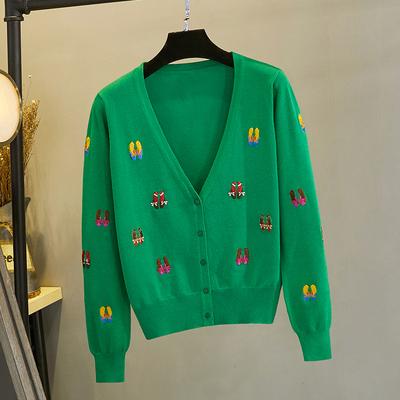 针织开衫2020年秋季韩版新款毛衣