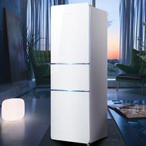 一级节能小冰箱家用小型租房双开门静音迷你宿舍用冷藏冷冻柜省电