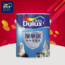 Dorothy Paoligui external wall latex paint coating paint primer 5L Elastic special exterior wall latex paint