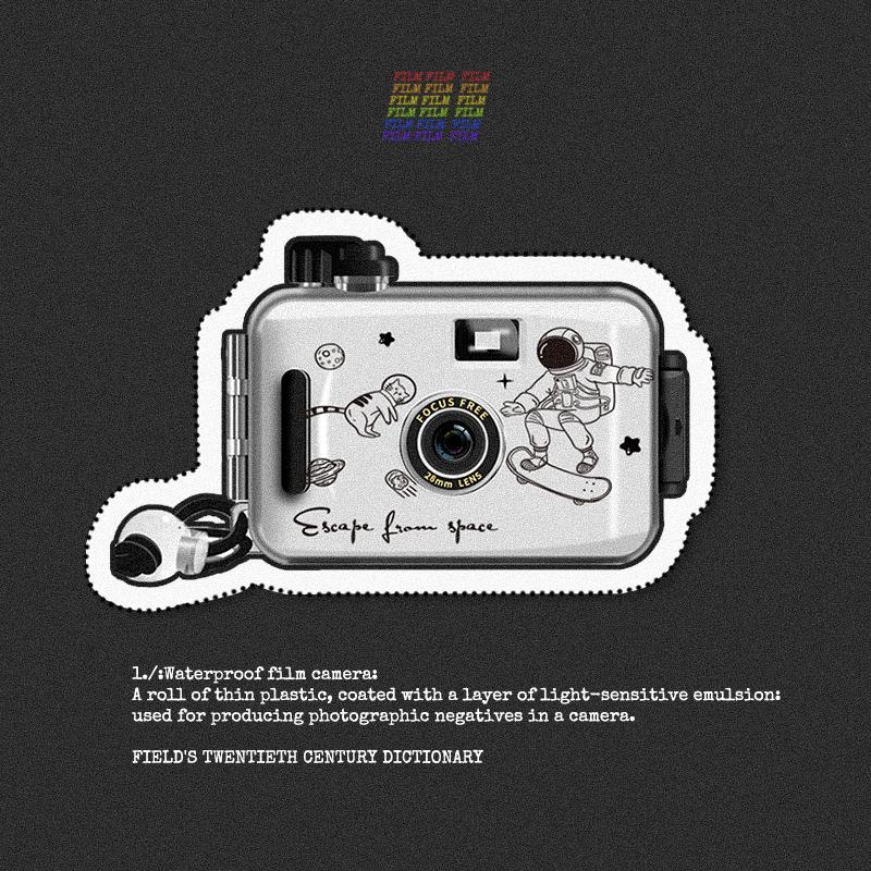 胶卷傻瓜相机防水复古新手入门135胶片机网红小相机学生生日礼物