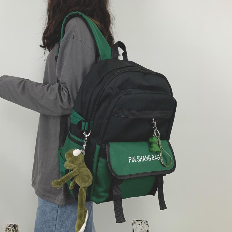 书包女ins风双肩包韩版原宿初高中大学生大容量15.6寸电脑背包男